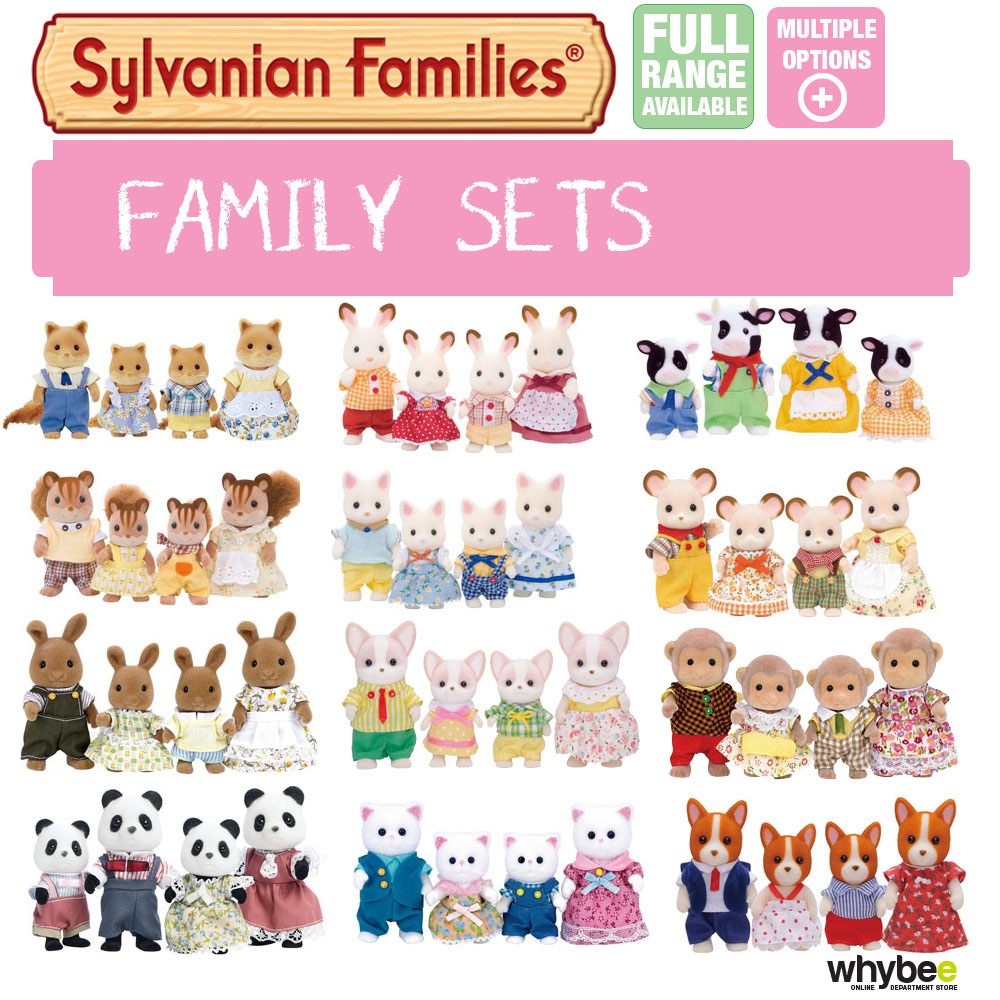 Sylvanian Families Family Sets Full Range Choose Your