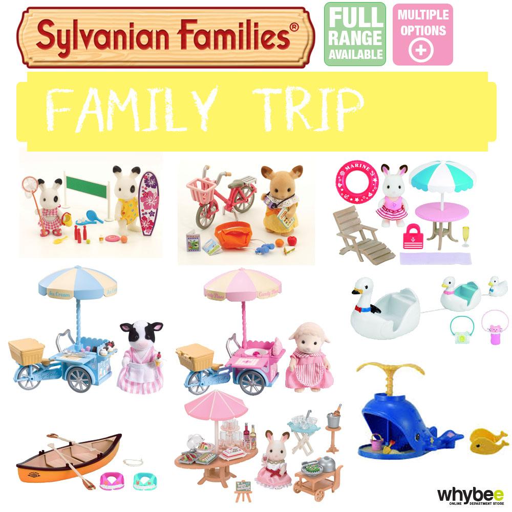 Sylvanian FAMILIES Custodia Full Range Scegli la tua Set Nuovo in Scatola