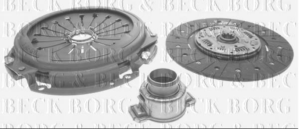 Borg /& Beck HK7893 Clutch Kit 3-in-1
