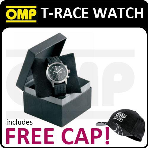 ORE/3914 OMP RACING T-RACE CHRONOGRAPH WATCH 44mm Diameter BLACK