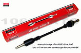 Peugeot 106 R/H Drive Shaft 91-98 1.0 1.1 1.4 NON ABS AMK DS1076