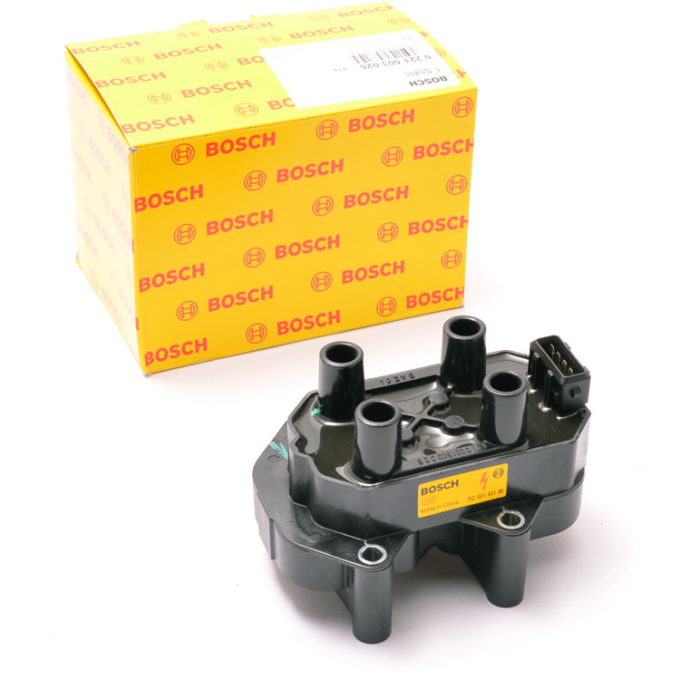 Peugeot 106 Bosch Ignition Coil Pack 106 1.1 1.4 96-03 Bosch 0221503025