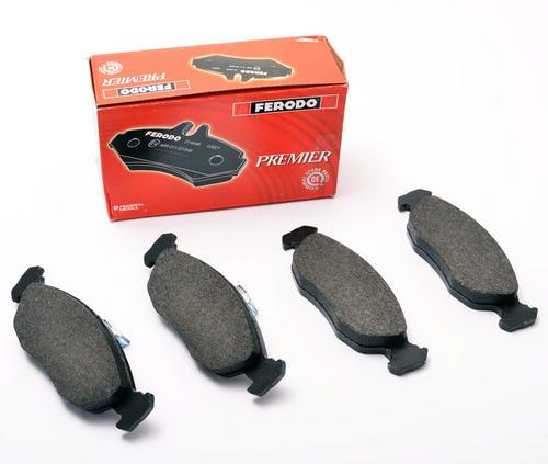 Peugeot 106 Front Brake Pads 1.6 RALLYE GTI VTS Ferodo FDB1168 Thumbnail 1