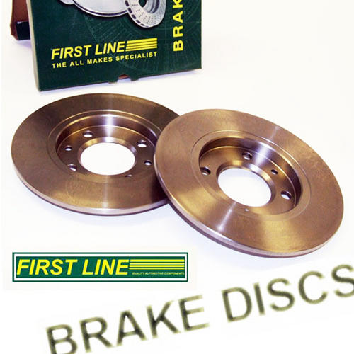 Peugeot 106 Front Brake Discs for 266mm Conversion (22mm) Firstline FBD1234 Thumbnail 1
