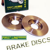 Peugeot 106 Front Brake Discs for 266mm Conversion (22mm) Firstline FBD1234