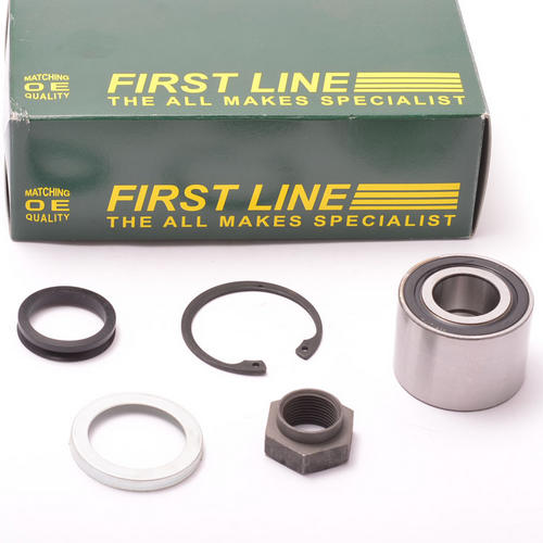 Peugeot 106 Rear Wheel Bearing (1) OD 52mm (2) for Drum Brakes Firstline FBK080 Thumbnail 1