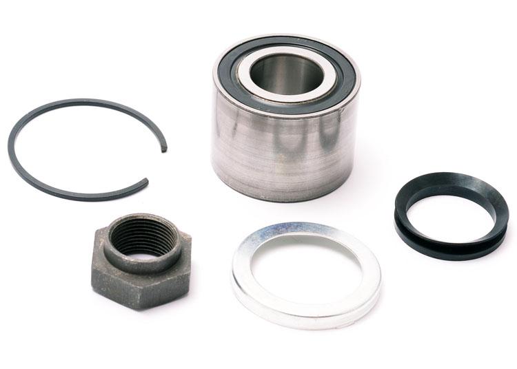 106 Rear Wheel Bearing (1) 52mm 106 S2 1.1 1.4 1.5D 99-03 Firstline FBK725