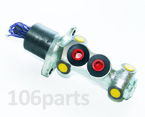 106 Brake Master Cylinder 20.6mm 4-Port S1 1.0 1.1 no ABS Firstline FBM4024 Thumbnail 1