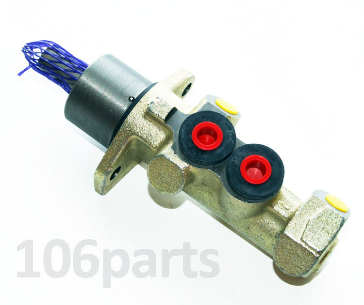 106 Master Cylinder 20.6mm 2-Port S1 1.4 1.4D 1.5D 1.6 with ABS Firstline