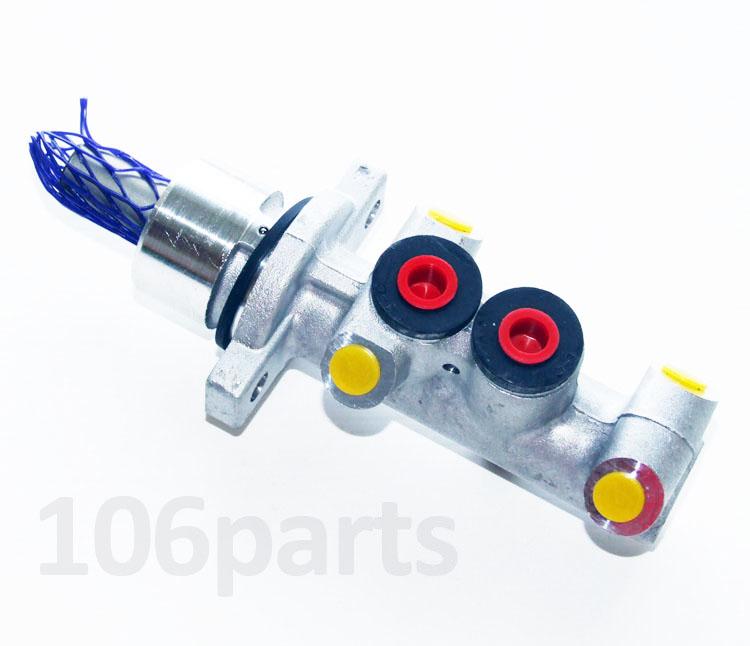 Peugeot 106 Brake Master Cylinder 20.6mm Aluminium S2 1.6 RALLYE w/o ABS