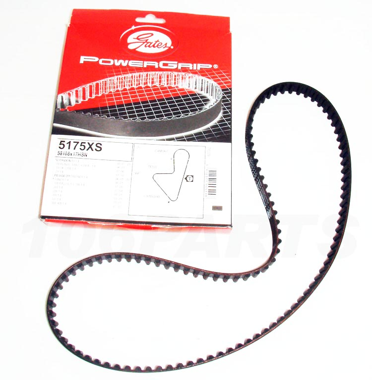 Peugeot 106 Powergrip Timing Belt 1.3 RALLYE Gates 5175XS