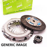 Peugeot 106 200mm Clutch Kit (later type) 1.6 GTI 16V 2000- Valeo 826211