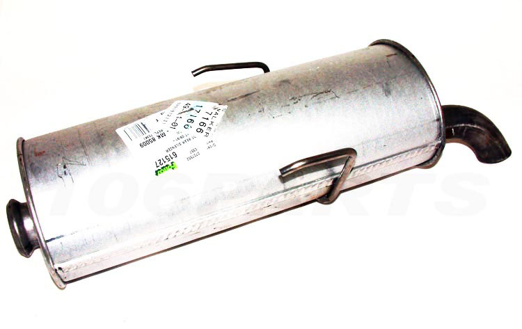Peugeot 106 Exhaust Back Box S1 91-96 XR XS XSI RALLYE