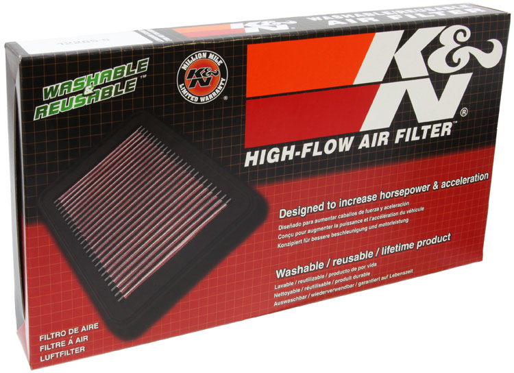 K/&N 33-2385 Hi-Flow Air Intake Drop in Filter for Ford Lincoln /'See Detail/'