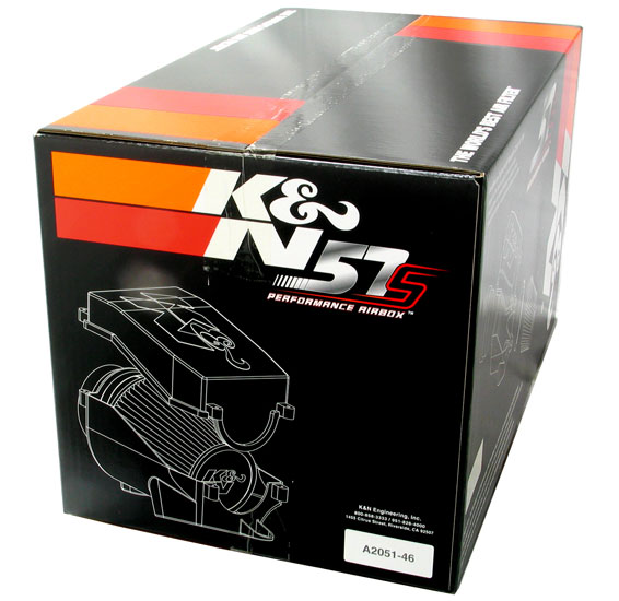 K/&N 57i Performance Kit VW New Bettle 1.8i Turbo 57-0432