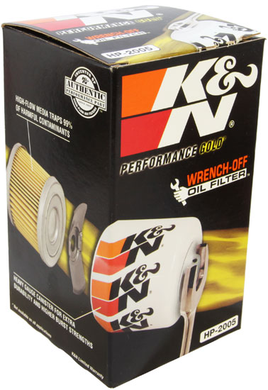 PS-2005 K/&N PRO OIL FILTER fits AUDI 200 2.2 1989-1991