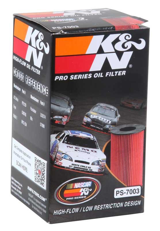 PS-7003 K/&N PRO Oil Filter fits SAAB 9-3 2.8 V6 2005-2010