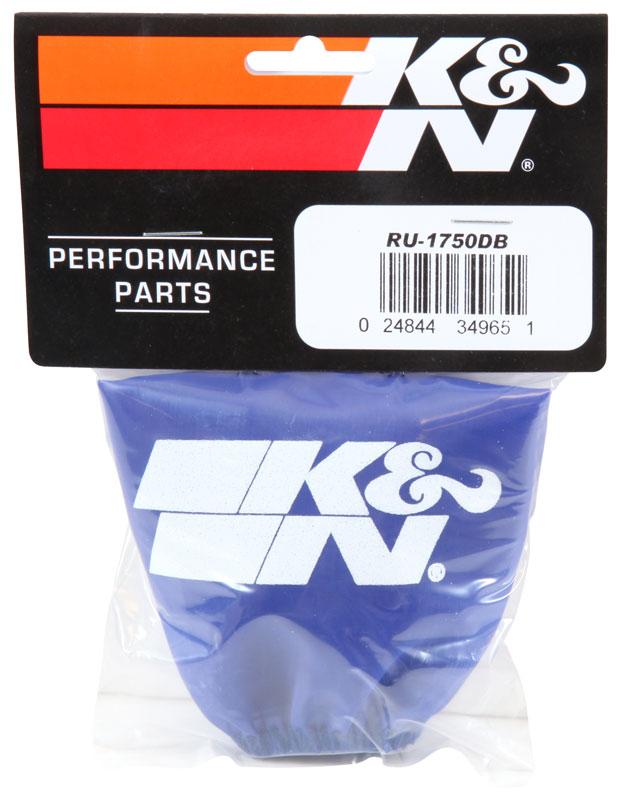 BLUE RU-1750DB K/&N Air Filter Wrap DRYCHARGER; RU-1750 KN Accessories