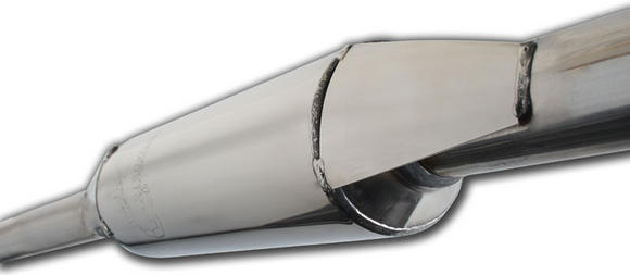 SAXSPORT DECAT CENTRE PIPE STAINLESS STEEL MADE BY SCORPION for SAXO VTR VTS Thumbnail 2