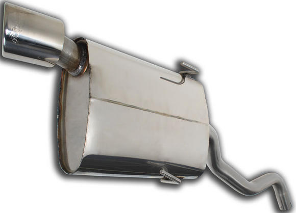 "SAXSPORT 3"" ROAD EXHAUST BACKBOX MADE BY SCORPION for CITROEN SAXO VTR VTS Thumbnail 2"