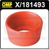 X/181493 OMP RACING EXTERIOR PUSH BUTTON SWITCH OUTER RED RUBBER RING SEAL