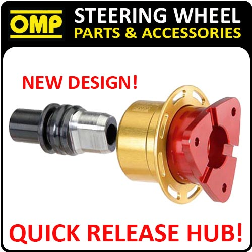 SALE! ODS/018 OMP QUICK RELEASE STEERING WHEEL HUB - 3 HOLE SNAP OFF