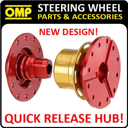 ODS/020 OMP QUICK RELEASE STEERING WHEEL HUB - 12 HOLE SNAP OFF - NEW OMP DESIGN