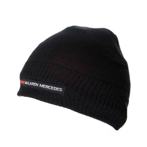 VODAFONE McLAREN MERCEDES BEANIE F1 TEAM KNITTED HAT ADULT ONE SIZE NEW!  82ed3745a5a