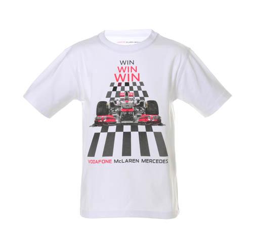 Sale vodafone mclaren mercedes kids car win t shirt for Mercedes benz t shirts sale