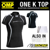 KK03011 OMP ONE K SHORT SLEEVED KART TOP