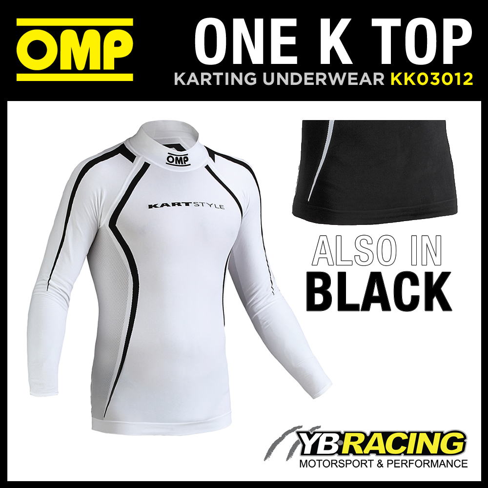 KK03012 OMP ONE K LONG SLEEVED KART TOP