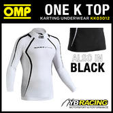 KK03012 OMP KS KART T-SHIRT KARTING LONG SLEEVE BREATHABLE FABRIC BASE LAYER