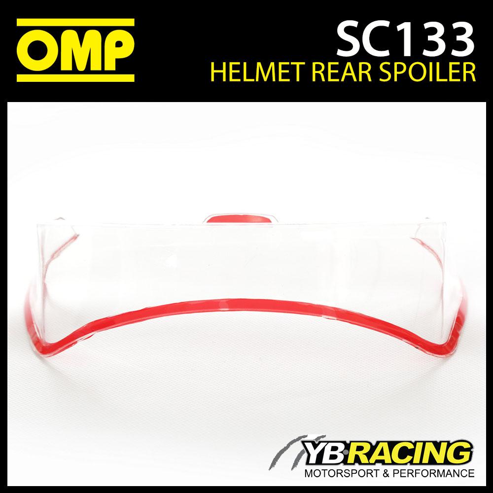 SC133 OMP Rear Transparent Optional Spoiler fits OMP SC785E GP8 EVO Helmet