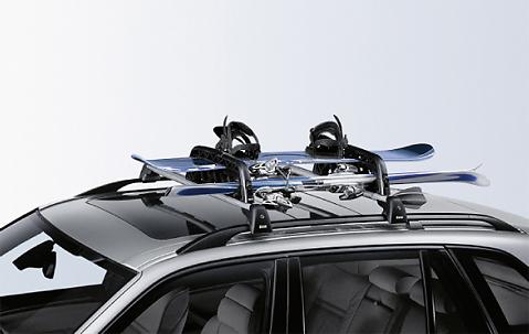 Bmw Ski Snowboard Car Rack Holder Roof Bars Lockable