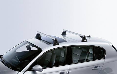 Bmw Aluminium Alu Lockable Roof Bars Rack E82 1 Series