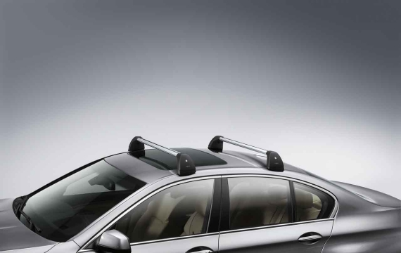 BMW Aluminium Alu Lockable Roof Bars Rack F10 5 Series 82712150092