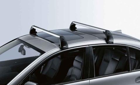 Bmw Genuine Aluminium Lockable Roof Bars Rack Support E81