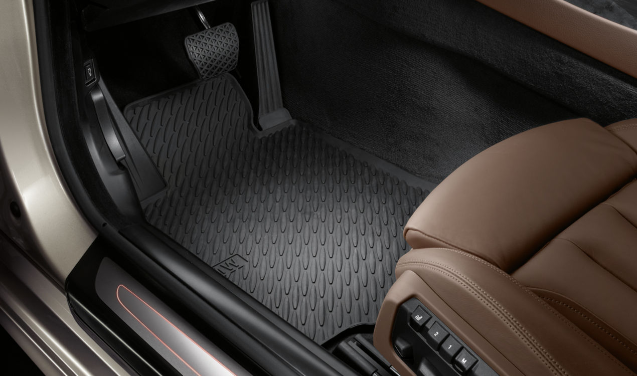 Bmw Genuine All Weather Rubber Floor Mats Front Black F06