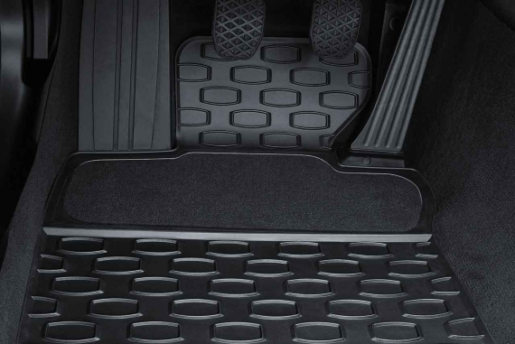 Details About Bmw Genuine All Weather Front Floor Mats Black E63 E64 6 Series 51470429145