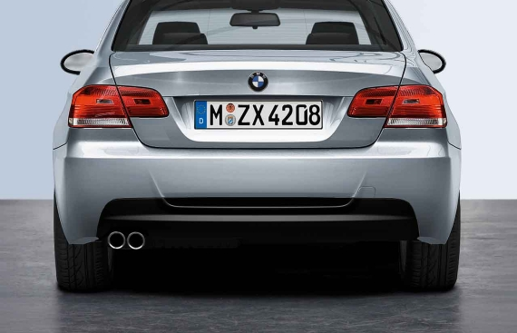Bmw Genuine M Sport Rear Bumper Diffuser Panel Trim E90