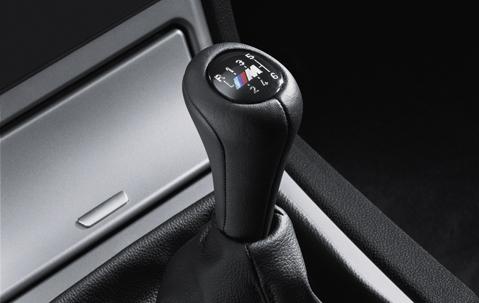 Bmw Genuine M Leather 6 Speed Sport Gear Stick Shift Knob