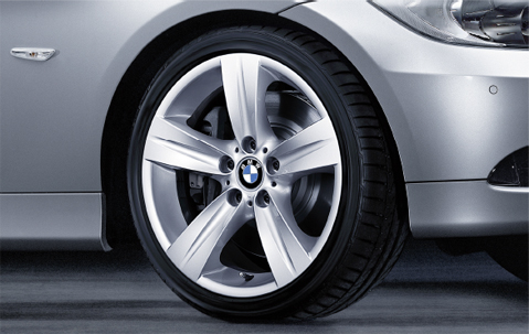 1x Bmw Genuine Alloy Wheel 18 Quot Star Spoke 189 Front Rim