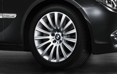 1x Bmw Alloy Wheel 19 Quot Multi Spoke 235 Rear Rim F01 F07 5