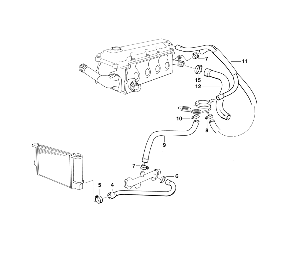 Bmw X3 Coolant System Parts Diagram Com