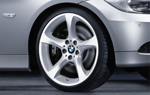 1x Bmw Genuine Alloy Wheel 19 Quot Star Spoke 230 Rear Rim E90