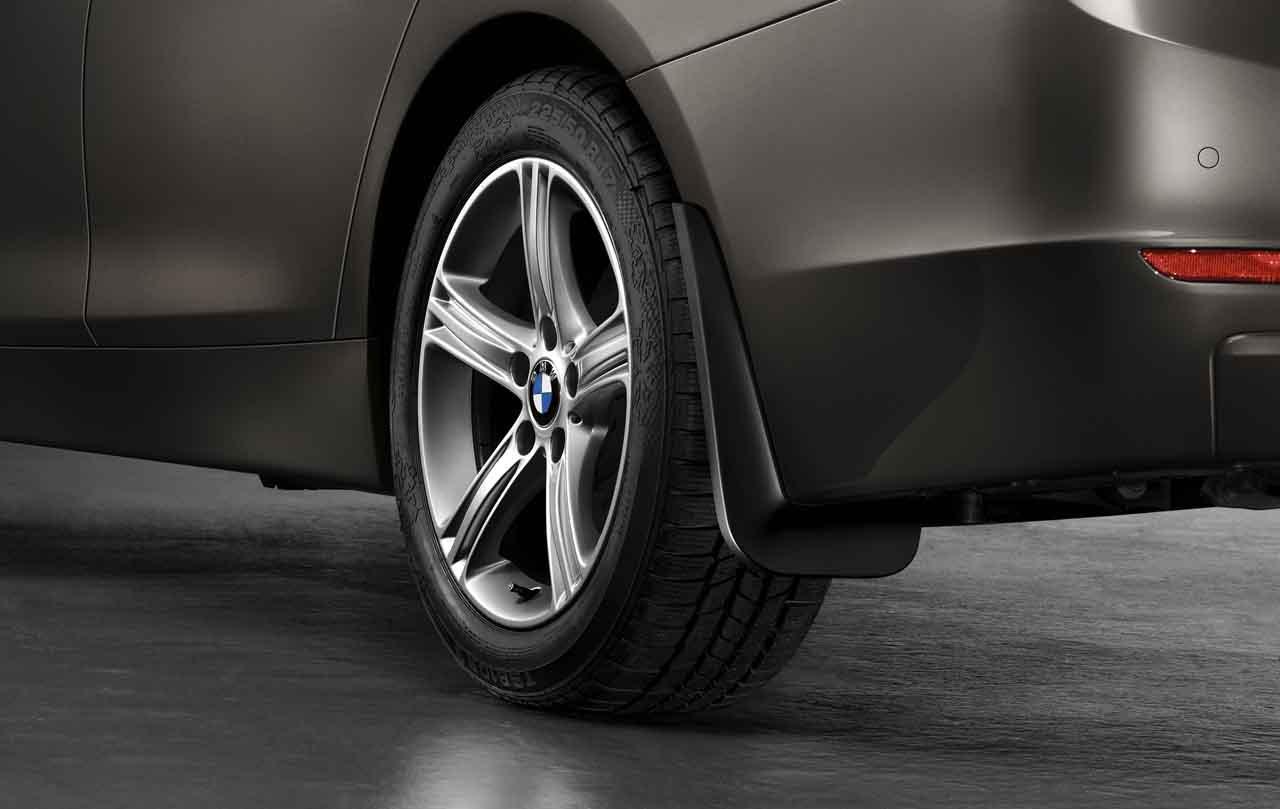 New Genuine BMW F10 Front Mudflaps 82162155858