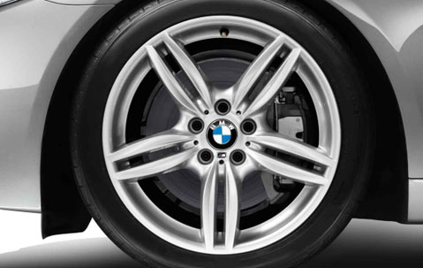 1x Bmw Alloy Wheel 19 Quot M Double Spoke 351 Front F10 F13 5