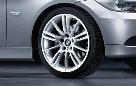 1x Bmw Genuine Alloy Wheel 18 Quot M Star Spoke 193 Rear E90 3