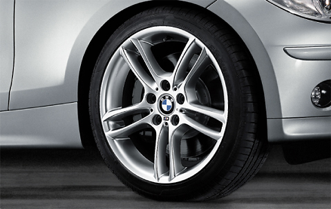 1x Bmw Genuine Alloy Wheel 18 Quot M Double Spoke 261 Front