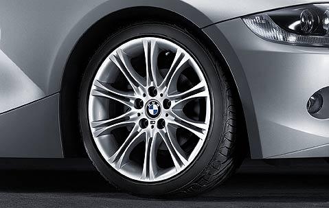 1x Bmw Genuine Alloy Wheel 18 Quot M Style 135 Rear E46 E85 3